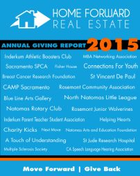 2015 Giving Report - Home Forward Real Estate